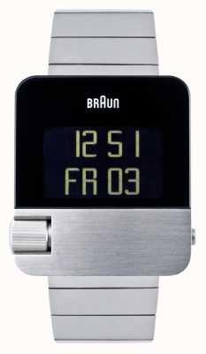 Braun Mężczyźni | prestiż | cyfrowy | bransoleta ze stali nierdzewnej BN0106SLBTG