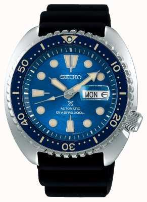 Seiko Prospex męski mechaniczny   uratować ocean   czarna gumka SRPE07K1