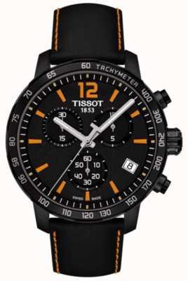 Tissot T-sport Quickster chronograf czarno-pomarańczowy T0954173605700
