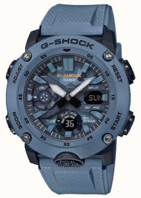 Casio Męski kamuflaż męski G Shock Carbon Core GA-2000SU-2AER