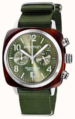 Briston Clubmaster classic | chronograf | 19140.SA.T.26.NOL