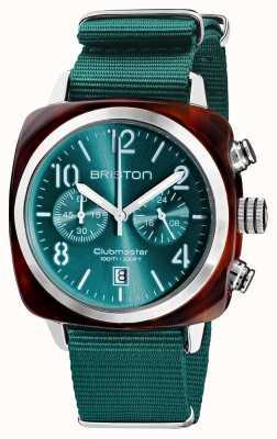 Briston Clubmaster classic | chronograf | 19140.SA.T.27.NE