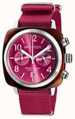 Briston Clubmaster classic | chronograf | 19140.SA.T.28.NBER