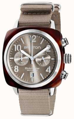 Briston Clubmaster classic | chronograf | 19140.SA.T.30.NT