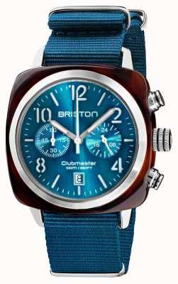 Briston Clubmaster classic | chronograf | 19140.SA.T.31.NBD