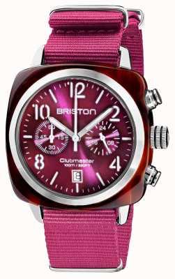 Briston Clubmaster classic | chronograf | 19140.SA.T.32.NC