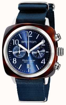 Briston Clubmaster classic | chronograf | 19140.SA.T.33.NMB