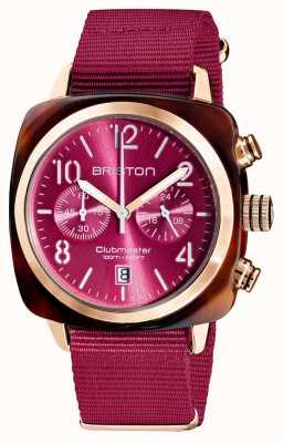 Briston Clubmaster classic | chronograf | 19140.PRA.T.28.NBER