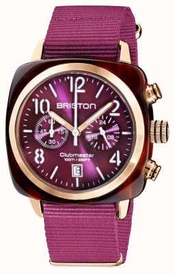 Briston Clubmaster classic | chronograf | 19140.PRA.T.32.NC
