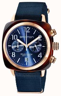 Briston Clubmaster classic | chronograf | 19140.PRA.T.33.NMB