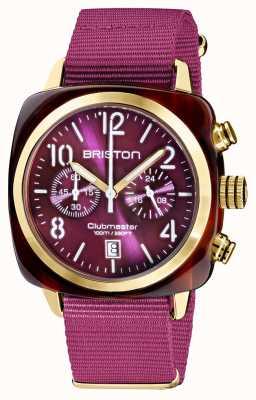Briston Clubmaster classic | chronograf | 19140.PYA.T.32.NC
