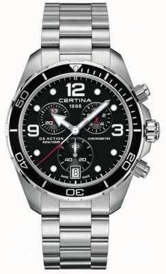 Certina Ds action chrono | chronometr | bransoleta ze stali nierdzewnej C0324341105700