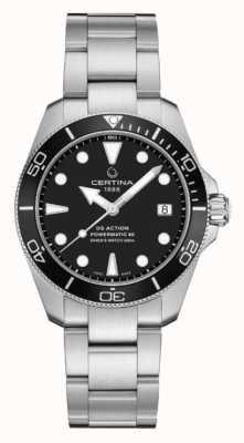 Certina Ds action diver | 38mm | powermatic 80 | Stal nierdzewna C0328071105100