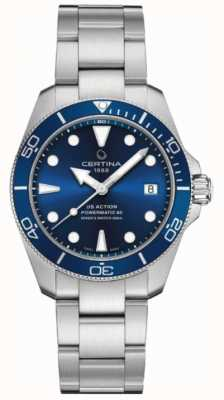 Certina Ds action diver | 38mm | powermatic 80 | Stal nierdzewna C0328071104100
