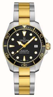 Certina Ds action diver | 38mm | powermatic 80 | dwutonowy C0328072205100