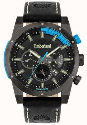 Timberland Mężczyźni | Sherbrook | czarny skórzany pasek | czarna tarcza 15951JSU/02