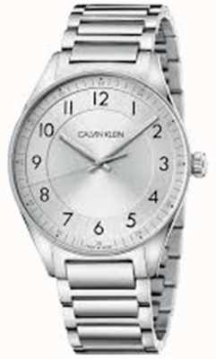 Calvin Klein | jasny | bransoleta ze stali nierdzewnej | srebrna tarcza | KBH21146