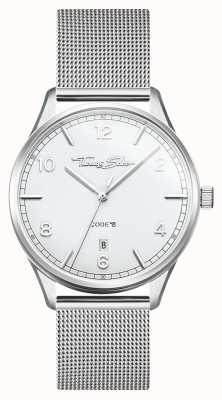 Thomas Sabo | glam i dusza | bransoletka ze stali dla kobiet | srebrna tarcza WA0360-201-202-36