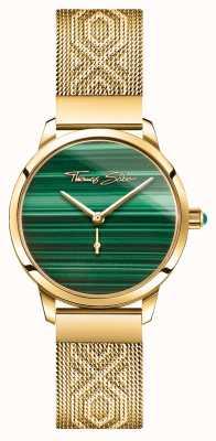 Thomas Sabo | glam i dusza | kobiecy duch ogrodowy | złoto malachitowe WA0365-264-211-33