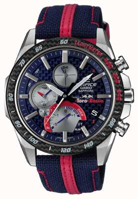 Casio | gmach | toro rosso | bluetooth solar | inteligentny zegarek EQB-1000TR-2AER