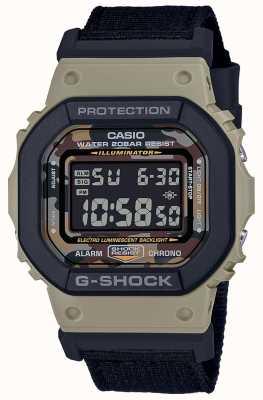 Casio G-shock | czarny pasek | cyfrowy | stoper DW-5610SUS-5ER