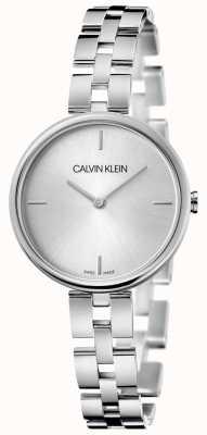 Calvin Klein Elegancja | bransoleta ze stali nierdzewnej | srebrna tarcza KBF23146