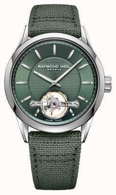 Raymond Weil Mężczyźni | freelancer | automatyczne | zielona tarcza 2780-STC-52001