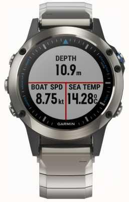 Garmin Quatix 5 | szafir | smartwatch morski 010-01688-42