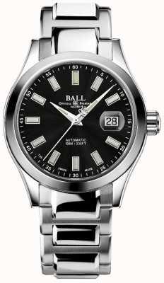 Ball Watch Company Mężczyźni   inżynier iii   cudowne   stal nierdzewna   czarna tarcza NM2026C-S23J-BK