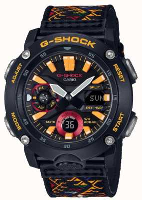 Casio Wzorzec z bhutanu z tkaniny G-Shock GA-2000BT-1AER
