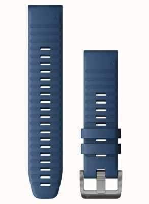Garmin Niebieski silikonowy pasek Quickfit 22 010-12863-21