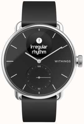 Withings Silikonowy Pasek Scanwatch 38mm - Czarny HWA09-MODEL 2-ALL-INT