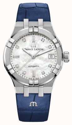 Maurice Lacroix Aikon   automatyczne   skórzany pasek AI6006-SS001-170-2