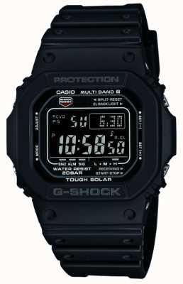 Casio Wytrzymały zegarek sterowany radiowo za pomocą falowodu GW-M5610-1BER