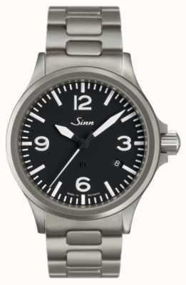 Sinn 856 zegarek pilotowy z ochroną pola magnetycznego 856.011 BRACELET