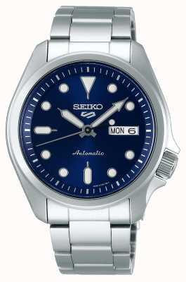 Seiko 5 sport | zegarek automatyczny | niebieska tarcza | bransoleta ze stali nierdzewnej SRPE53K1