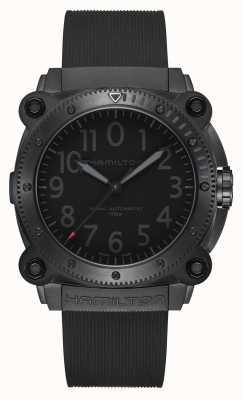 Hamilton Zegarek tenet poniżej zera limitowanej edycji czerwony sekundnik H78505332