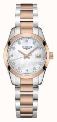 Longines Klasyk Conquest | damskie | szwajcarski kwarc | dwutonowy L22863877