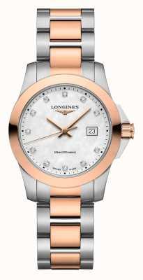Longines | podbój klasyczny | damskie | szwajcarski kwarc | dwutonowy L33763887