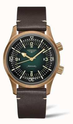 Longines Legend Diver Bronze | męskie | szwajcarski automatyczny L37741502