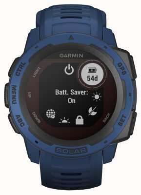 Garmin Niebiesko-gumowy pasek instynktowny solarny z gps pływową 010-02293-01