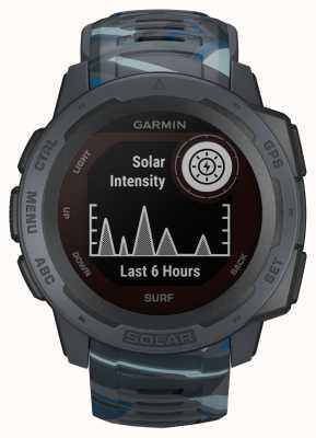 Garmin Instinct Solar Gps Surf Edition, gumowy pasek rurociągowy 010-02293-07