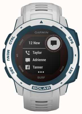 Garmin Instinct Solar Gps Surf Edition, gumowy pasek Cloudbreak 010-02293-08