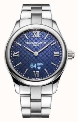 Frederique Constant Kobiety   witalność   smartwatch   niebieska tarcza   Stal nierdzewna FC-286N3B6B