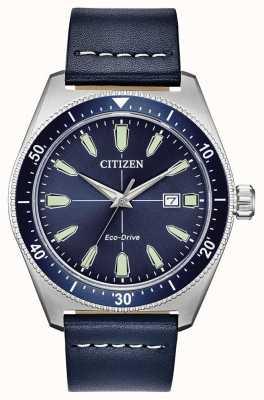 Citizen Męski zegarek sportowy z napędem ekologicznym w stylu vintage AW1591-01L