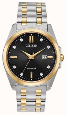 Citizen Dwukolorowy zegarek Corso eco-drive BM7107-50E