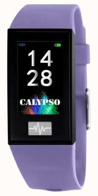 Calypso Unisex | smartime | fioletowy pasek silikonowy + pasek gratis K8500/2