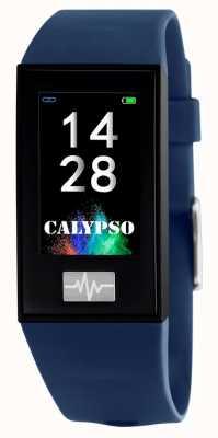 Calypso Unisex | smartime | niebieski pasek silikonowy + pasek gratis K8500/5