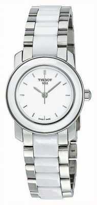 Tissot Damski zegarek cera 28 mm z diamentami T0642102201600