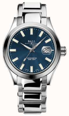 Ball Watch Company Inżynier mężczyzn III Auto | edycja limitowana | niebieski zegarek NM2026C-S27C-BE